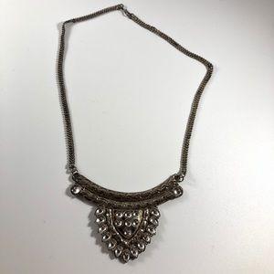 NWOT Silver Vintage Boho Necklace/Choker